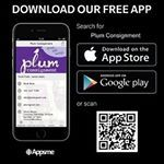 What's APPening Hot Stuff? Download Plum's FREE app to find out! 1. Receive special mobile offers with in-app notifications  2. Check out our fresh-picked new arrivals & conveniently shop 3. Schedule consignment appointments  4. Check your consignor account balance  5. Connect with us socially {Facebook, Twitter & Utube}  6. Get the latest plum good news & events  https://plumconsignment.appsme.com