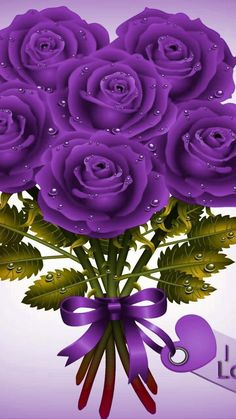 Good Morning Beautiful Flowers, Amazing Flowers, Pretty Flowers, Purple Flowers, Purple Fascinator, Power Wallpaper, Bouquet, Love Rose, All Things Purple