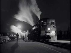 trains-planes-and-automobiles: (ca. Southern Pacific 'Tehachapi' Night Train 55 at the Glendale Station. Photo by Richard Steinheimer. By Train, Train Tracks, Union Pacific Railroad, Night Train, Old Trains, Train Pictures, Steam Locomotive, South Pacific, Southern