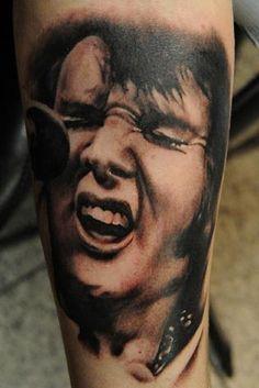 elvis tattoo | Tumblr