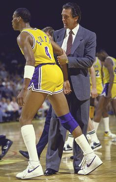 Byron Scott and Pat Riley