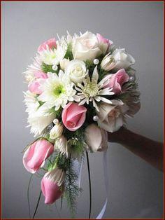 pink-white-bouquet-bridal