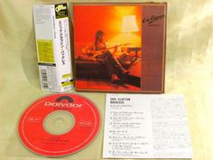 CD/Japan- ERIC CLAPTON Backless w/OBI mini-LP RARE GATEFOLD COVER  UICY-9163 #SoftRockBluesRockHardRock