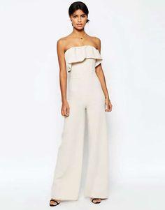 ac79adb13d1d Bridal Jumpsuits For A Rustic Wedding. Bandeau JumpsuitWhite JumpsuitCream  JumpsuitStrapless ...