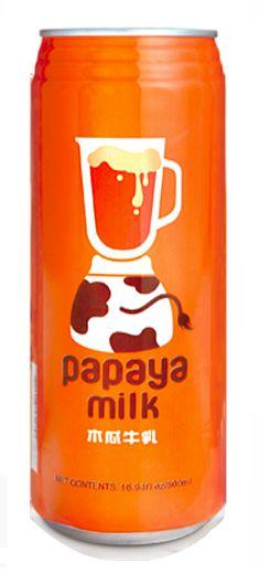 Papaya Milk 陽光活-力鮮滋味