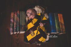 Harry Potter Newborn Photograhy Ideas Newborn Harry Potter ideas  Danielle Sullivan Photography  AWESOME!!!!!!!!!!