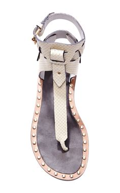 Circus Maximus Jayson Shoes In Ecru by Isabel Marant for Preorder on Moda Operandi