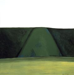 Colin McCahon, North Otago Landscape 4, 1967 Nz Art, Make Art, Color Theory, Art Therapy, Basic Colors, New Zealand, Landscapes, Coast, Outdoor Blanket