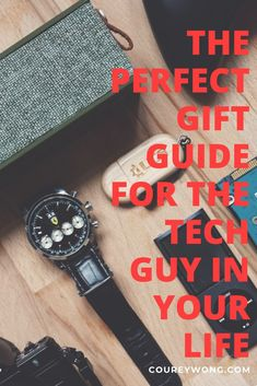 44 Amazing Tech Gifts For Guys | Are you looking for the perfect gift for a guy in your life? Is he a tech geek or are you trying to introduce him to some cool tech of this century? Maybe you just need some gift ideas. Whatever the occasion may be, we got you covered with our comprehensive list of 44 cool tech ideas that will make any guy say wow. No man is the same so check out these gift ideas and find the perfect fit with these tech gadgets. | tech for men | gifts for dad #technology