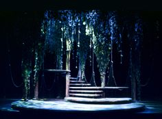 A Midsummer Night's Dream. Scenic design by Joe Tilford.