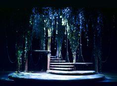 A Midsummer Night's Dream. Scenic design by Joe Tilford.