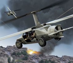 RENOVAÇÃO: Carro voador tira você do perigo durante uma guerr...
