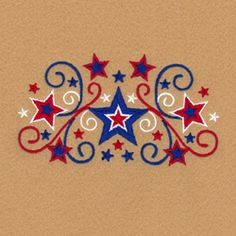 Stars and Swirls Designs Pack of Machine embroidery Designs Starbird Stock Designs Catalog