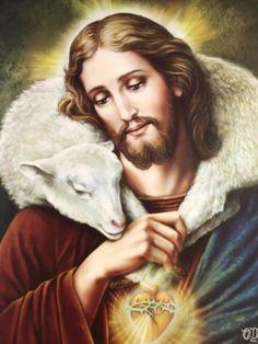 Lds Pictures, Catholic Pictures, Pictures Of Jesus Christ, Jesus Our Savior, Jesus Art, Jesus Is Lord, Christ The Good Shepherd, Jesus Cartoon, Jesus E Maria