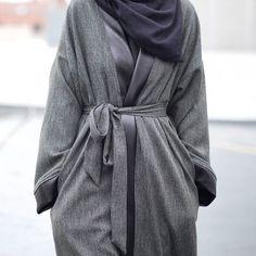 IG: Mode.ste || Abaya Fashion || IG: Beautiifulinblack