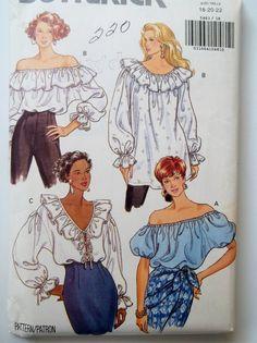 Pattern Butterick Sewing Vintage 2001 Woman Dress Jacket Sz 18-22 NEW OOP