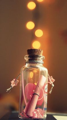 Make a wish. discovered by 【dark dream】 on We Heart It Bottle Jewelry, Bottle Charms, Bottle Necklace, Bottles And Jars, Glass Bottles, Perfume Bottles, Magic Bottles, Deco Rose, Miniature Photography