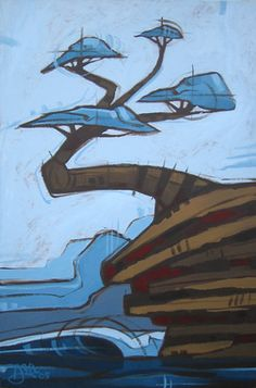 """""""Blue Tree Point"""" © Erik Abel 2006"""