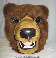 Animal Costume to Rent: Brown Bear