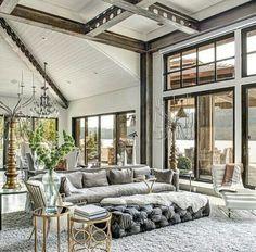 Small House - Home Decor - Living space Living Room Themes, Living Spaces, Living Rooms, Fine Woodworking, Architecture Design, Boho Home, Interior Decorating, Interior Design, Stylish Interior