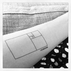 "New Golden Ratio ""tattoo"" #tattly #goldenratio #thegoldenration #tattoos #1.61803399   Flickr - Photo Sharing!"