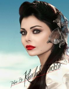 Haifa Wehbe [one of my glam icons! always love her makeup, hair ...