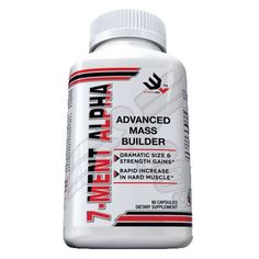 10x's the strength of Testosterone! The pharmaceutical design squad at WYKED LABS, LLC has made MASSIVE SIZE their mission with the recent launch of the explosively potent pr-hormone 7-MENT ALPHA. $49.95