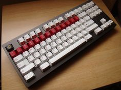 KMAC titanium mechanical keyboard with Cherry MX switches