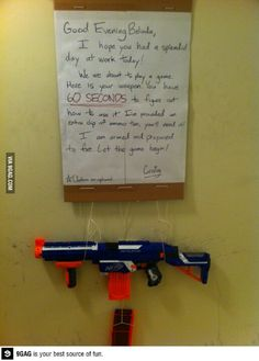This could be done with a roomate too...I want a roomate now :(