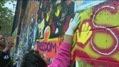 Art is helping Baltimore communities heal in the days since protests and riots boiled over the streets. Art Base, Art Therapy, Baltimore, Healing, Action, Community, Music, Musica, Group Action