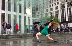 """""""Dancers of New York"""" takes advantage of slow motion video capture, and it was shot entirely on an iPhone 6."""