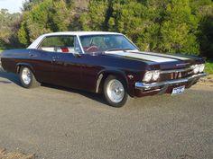 1965 Australian assembled Chevrolet Impala 4 Door Pilarless