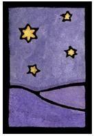 Star Light, Sarah Angst Wall Art, Prints, Greeting Cards, Bozeman, Montana