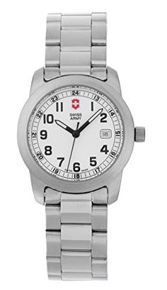 Swiss Army Victorinox 24973 Ladies Field Collection Womens Watch All Stainless Steel Date Mother Day Watch * Click on the image for additional details.