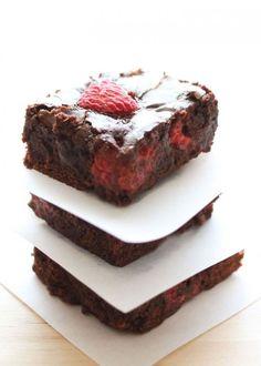 Gluten Free Raspberry Brownies