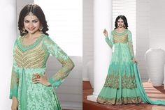 Ethnic Anarkali Dress Salwar Kameez Indian Pakistani  Designer Suit Bollywood…