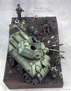 Tiger Tank, Ww2 Tanks, Military Diorama, Figure Model, Panzer, Art Model, Plastic Models, Scale Models, Action Figures