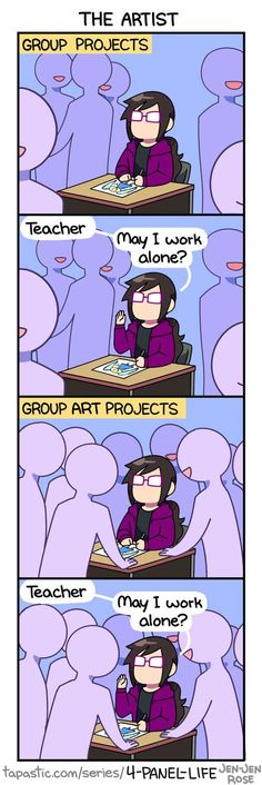 4-Panel Life :: THE ARTIST | Tapastic