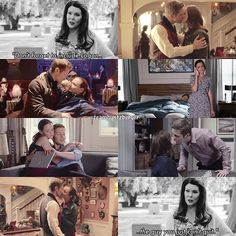 They are the OTP of Gilmore Girls and the best tv couple of all time.❤❤