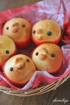Baby bird bread