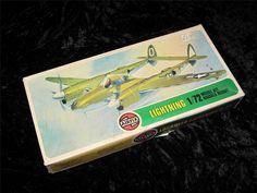 Airfix Model Aircraft Kit 1/72 Lockheed P-38J Lightning Unmade in Type 4 Var Box | eBay