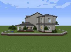 Townhouse Mansion minecraft house designs 3