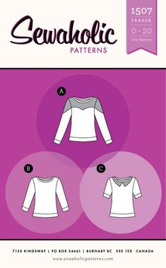 Shop now for modern sewing patterns for blouses, dresses, skirts and jackets. Paper sewing patterns designed for pear-shaped women. Dressmaking patterns for women. Made with love in Canada. Pear Shaped Women, Modern Sewing Patterns, Sweatshirt Refashion, Dress Making Patterns, Diy Clothing, Sewing Hacks, Sewing Projects, Sewing Ideas, Dressmaking