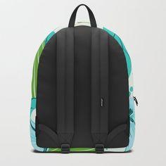 light blue flowers  Backpack Tie Dye Backpacks, Green Backpacks, Day Backpacks, Striped Backpack, Pineapple Backpack, Monster Backpack, Beach Backpack, Mandalas, Koalas