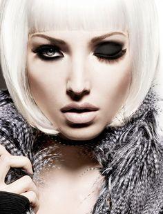 Black  #makeup #beauty #face http://ko-te.com