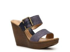 b.o.c Ginevra Wedge Sandal | DSW