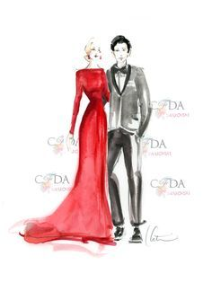 classy lady drawing - Google Search