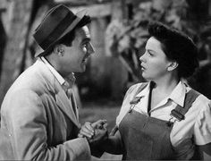 """Jane Falbury (Judy Garland): """"You really love this, don't you?"""" // Joe D. Ross (Gene Kelly): """"What? Show business? There's nothing else in the world."""" -- from Summer Stock (1950) directed by Charles Walters"""