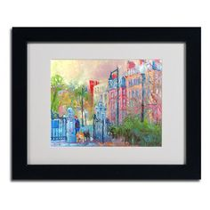 You'll love the 'Boston' by Richard Wallich Framed Painting Print at Wayfair - Great Deals on all Décor  products with Free Shipping on most stuff, even the big stuff.