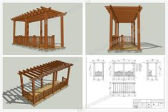 Verandah Designs | Your Position: Home > PRODUCTS > WPC Pergola kits